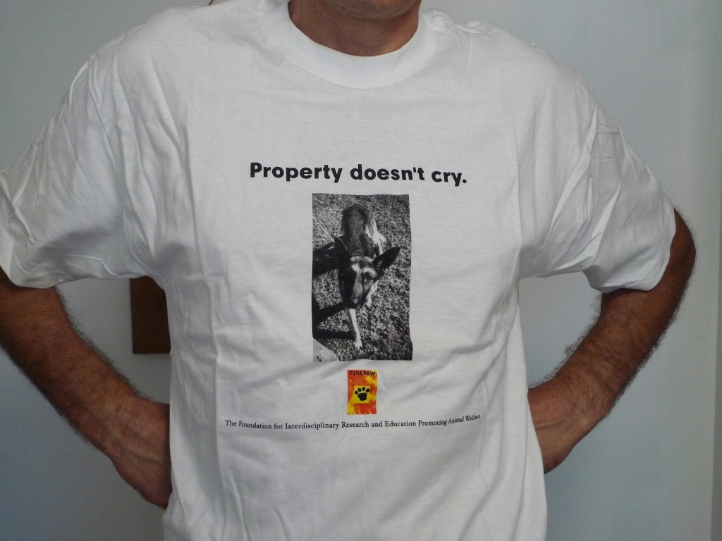 FIREPAW Tshirt-property doesnt cry 1